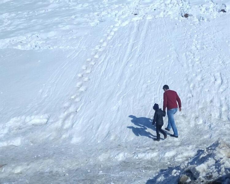 هنر عکاسی زمستان انارک