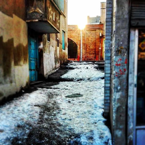 هنر عکاسی زمستان -