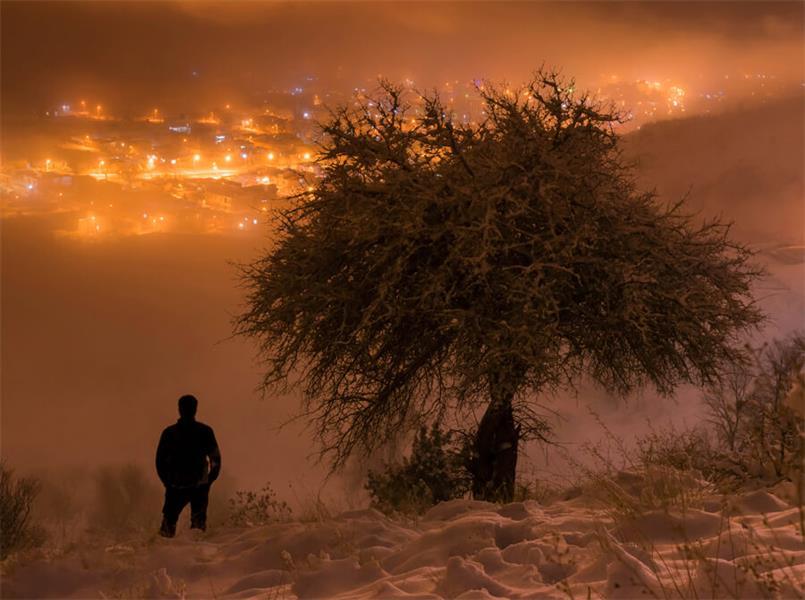 هنر عکاسی زمستان hossein