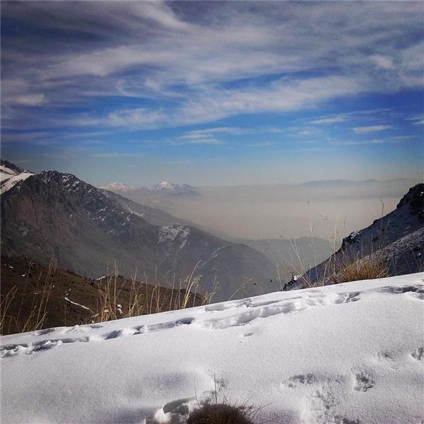 هنر عکاسی زمستان سروش