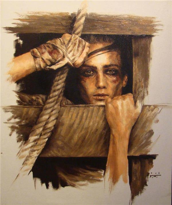 هنر نقاشی و گرافیک نقاشی امید Shabi
