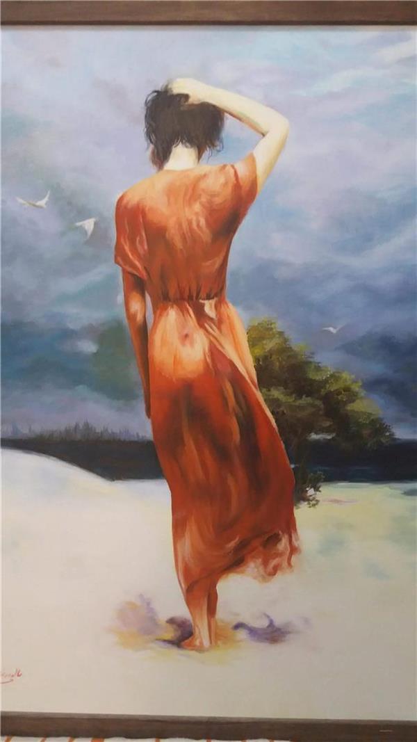 هنر نقاشی و گرافیک نقاشی امید فروغ