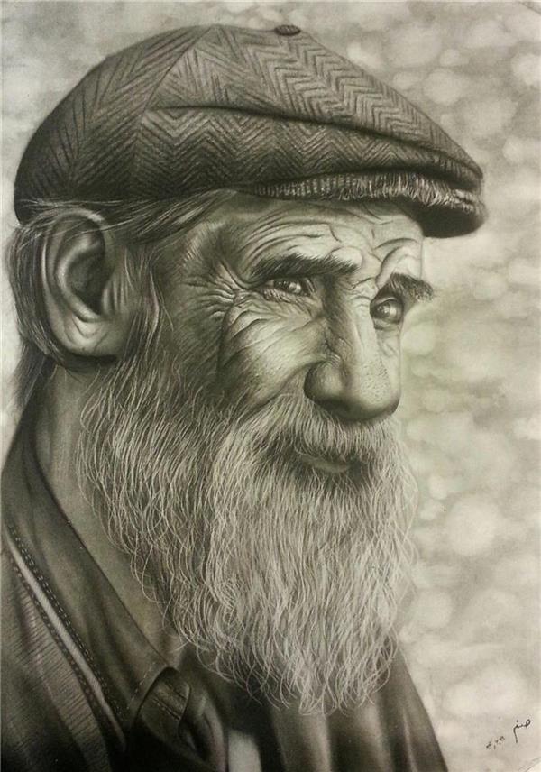 هنر نقاشی و گرافیک نقاشی امید صنم