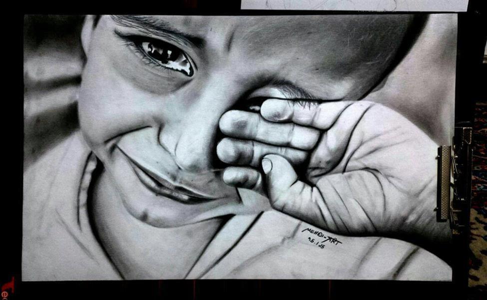 هنر نقاشی و گرافیک نقاشی امید mehdi_art