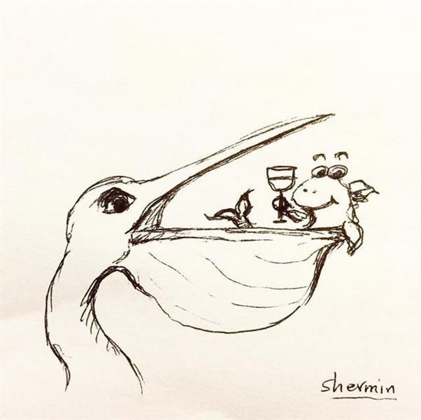 هنر نقاشی و گرافیک نقاشی امید sherminartist7