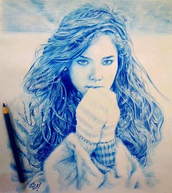 هنر نقاشی و گرافیک نقاشی امید منوچهر رشیدی
