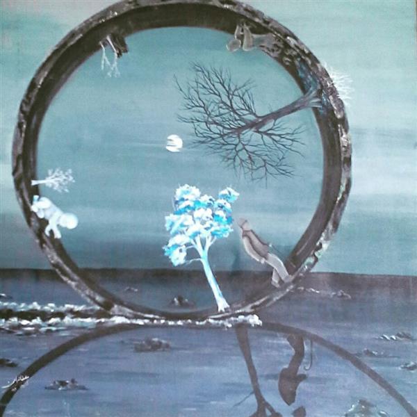 هنر نقاشی و گرافیک نقاشی امید صفورا سلطانیان
