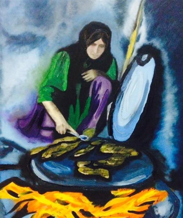 هنر نقاشی و گرافیک نقاشی امید Shaghayeghallipour