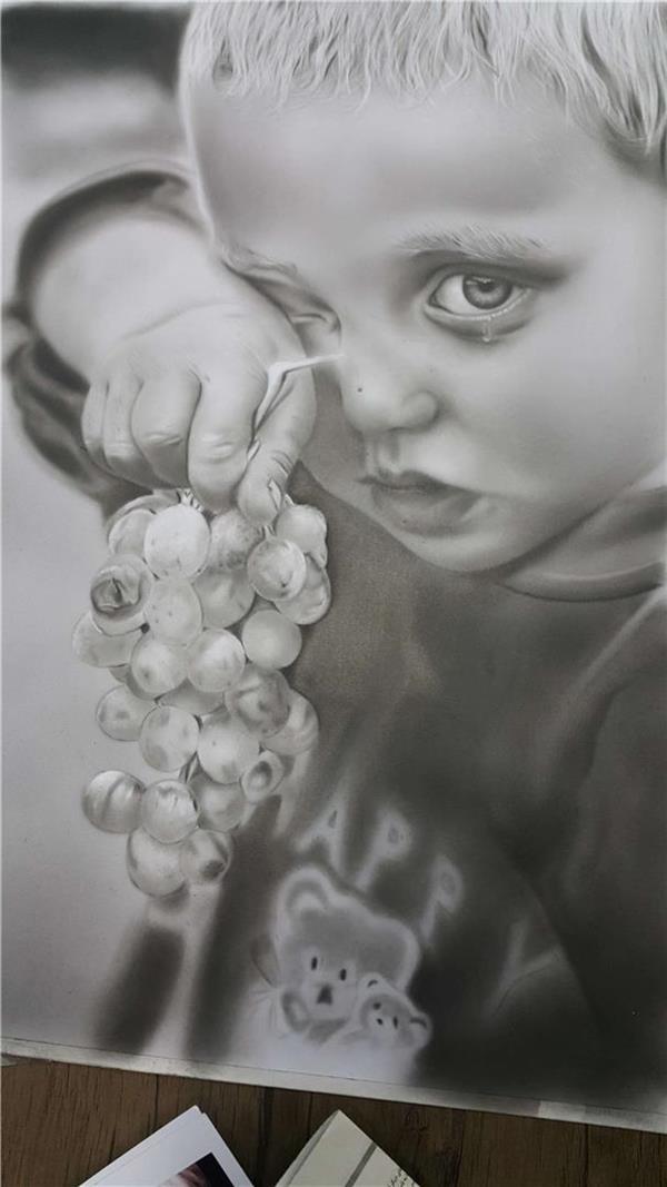 هنر نقاشی و گرافیک نقاشی امید elnaz