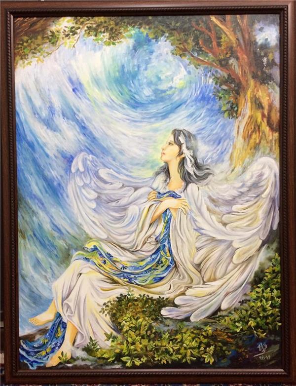 هنر نقاشی و گرافیک نقاشی امید Farzaneh