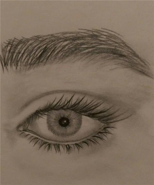 هنر نقاشی و گرافیک نقاشی چشم رها