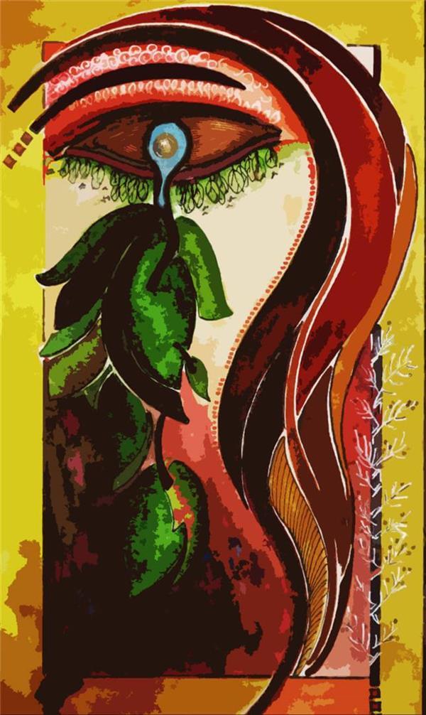 هنر نقاشی و گرافیک نقاشی چشم zahraasli