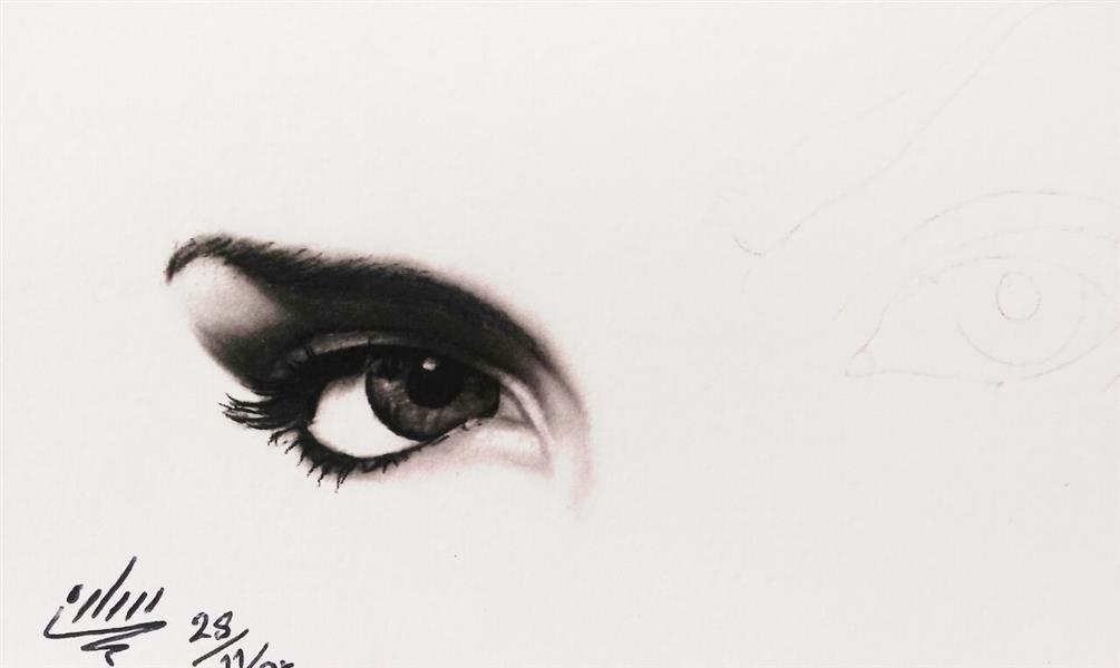 هنر نقاشی و گرافیک نقاشی چشم SarehArt