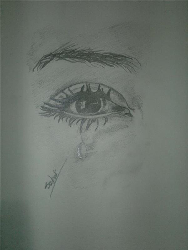 هنر نقاشی و گرافیک نقاشی چشم raham