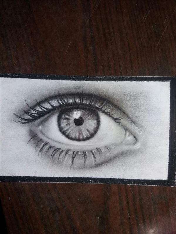 هنر نقاشی و گرافیک نقاشی چشم Miss_artist