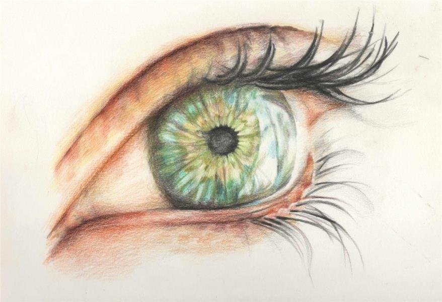 هنر نقاشی و گرافیک نقاشی چشم Masum_M