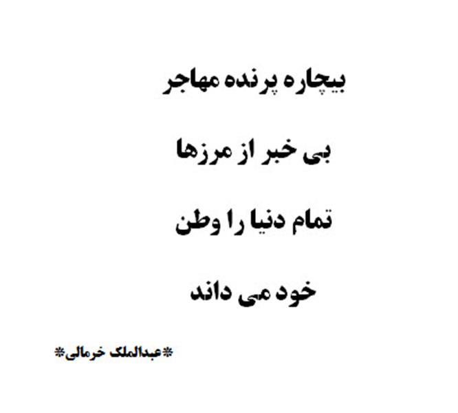 هنر شعر و داستان شعر سفر عبدالملک خرمالی