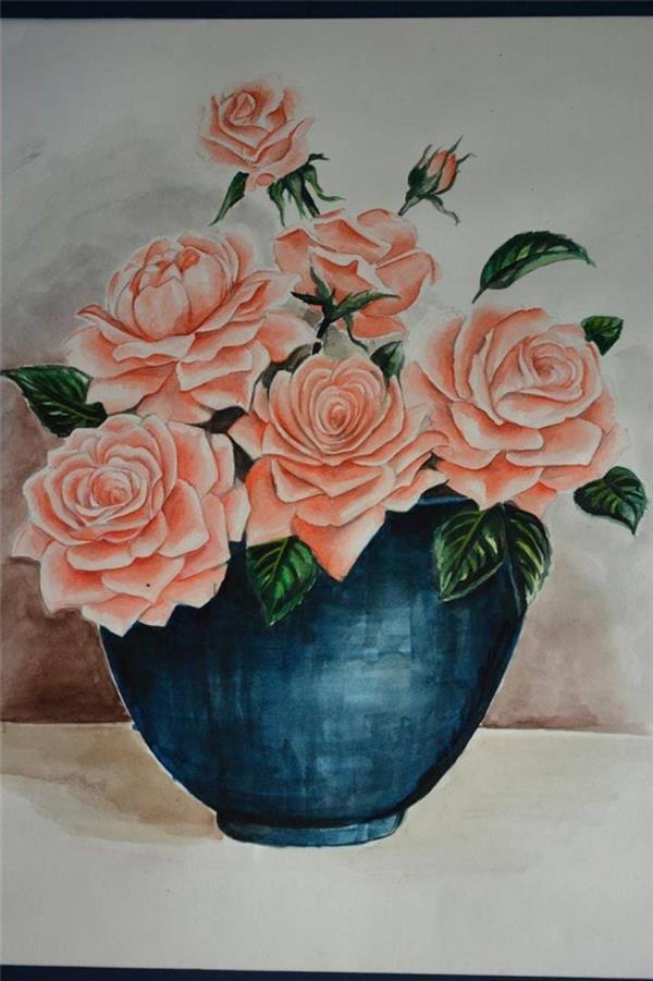هنر نقاشی و گرافیک نقاشی گل Masum_M