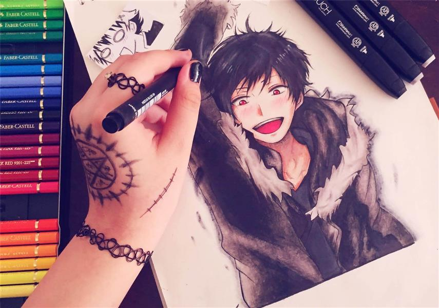 هنر نقاشی و گرافیک کاراکتر شاد Usagi Chan