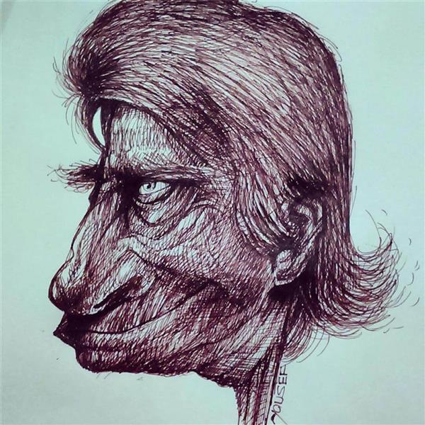 هنر نقاشی و گرافیک کاراکتر شاد Parvaaz