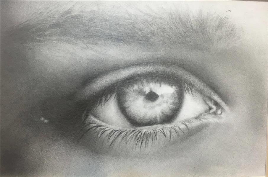هنر نقاشی و گرافیک گالری اختصاصی هادی پاکتی و آزیتا داور خواه Hadipakati  تکنیک پرداز مداد 7 X 10