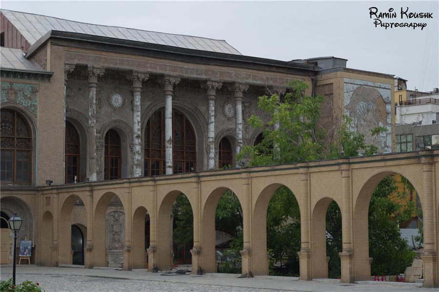 هنر عکاسی بناهای تاریخی رامین کوشک سرایی