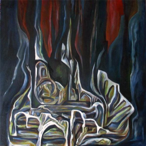 هنر نقاشی و گرافیک نقاشی جنگ رنگ ها pourya314