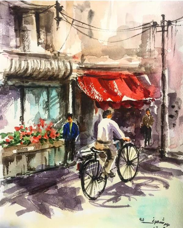 هنر نقاشی و گرافیک نقاشی جنگ رنگ ها Maryam sheijooni