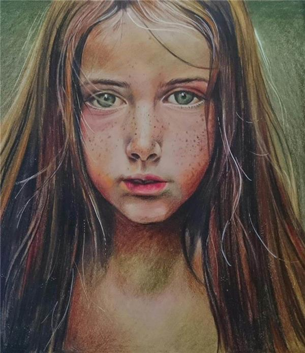 هنر نقاشی و گرافیک نقاشی پرتره (چهره) Maryam