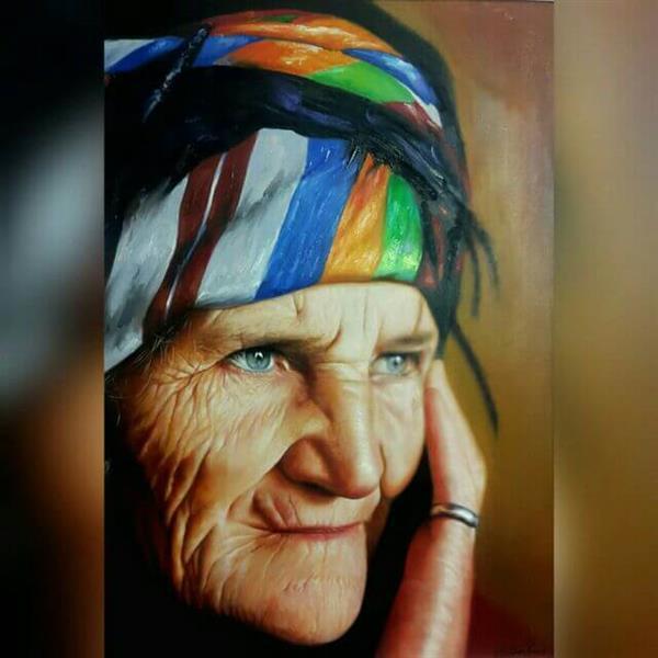 هنر نقاشی و گرافیک نقاشی پرتره (چهره) مینوشکا