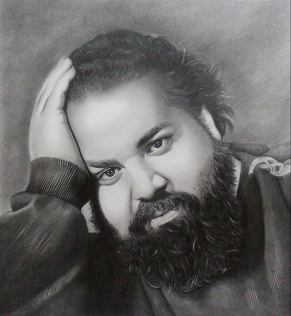 هنر نقاشی و گرافیک نقاشی پرتره (چهره) mohammadpour