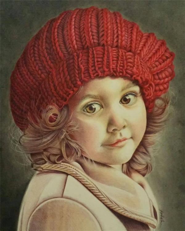 هنر نقاشی و گرافیک نقاشی پرتره (چهره) halleh خودکار