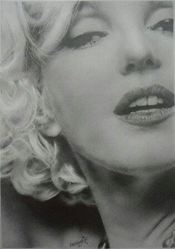 هنر نقاشی و گرافیک نقاشی پرتره (چهره) Neda latif