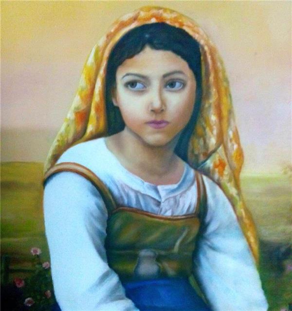 هنر نقاشی و گرافیک نقاشی پرتره (چهره) Donya