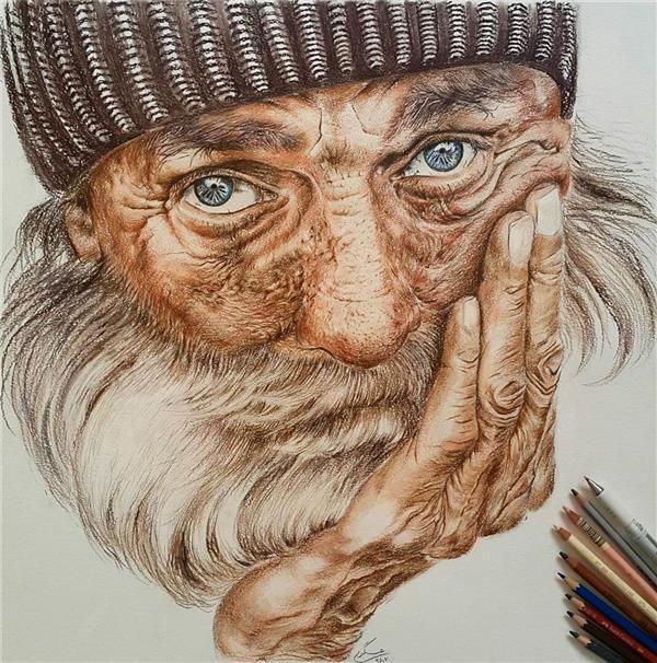 هنر نقاشی و گرافیک نقاشی پرتره (چهره) Hadis