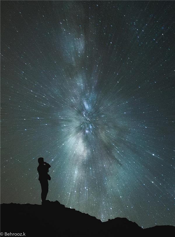 هنر عکاسی آسمان Behrooz