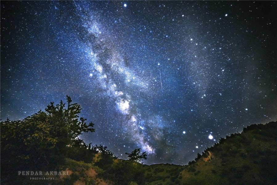 هنر عکاسی آسمان Pendar Akbari