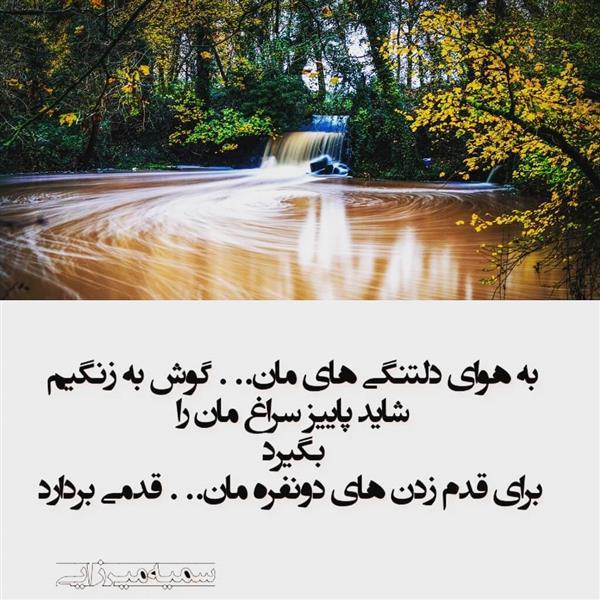 هنر شعر و داستان شعر فراق سمیه میرزایی