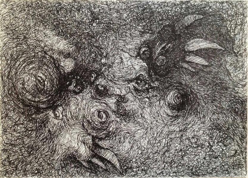 هنر نقاشی و گرافیک نقاشی سه بعدی  ghafoorian (Tragedy . (size : 30 . 40