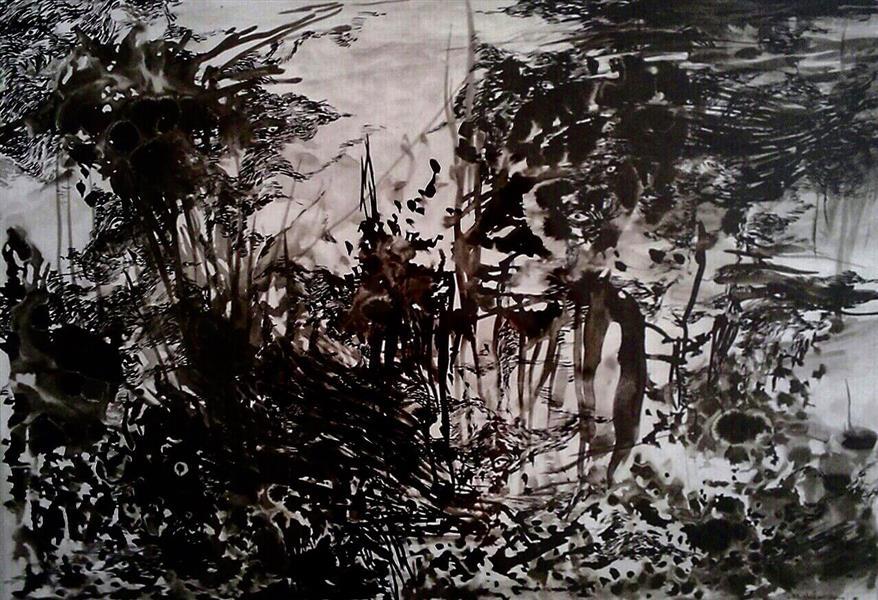 هنر نقاشی و گرافیک نقاشی سه بعدی  ghafoorian (shadows. (size : 40 . 60