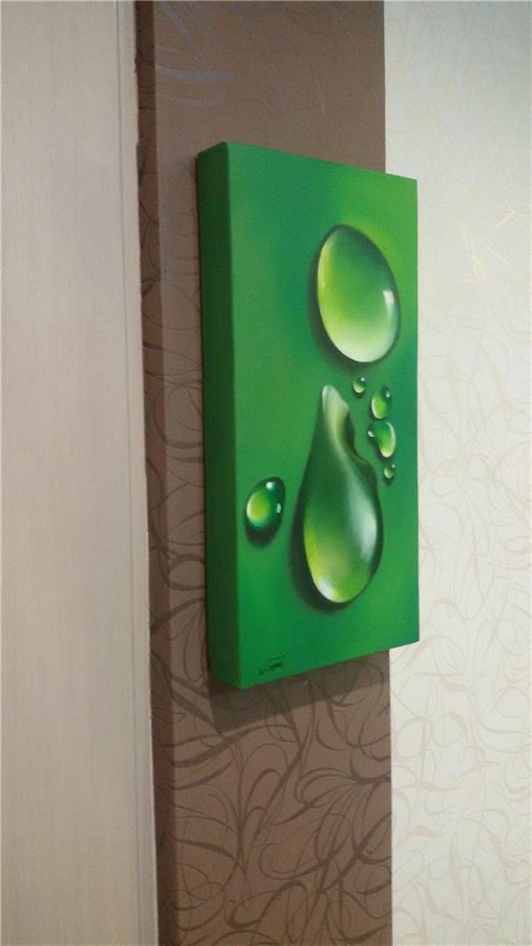 هنر نقاشی و گرافیک نقاشی سه بعدی نازنین