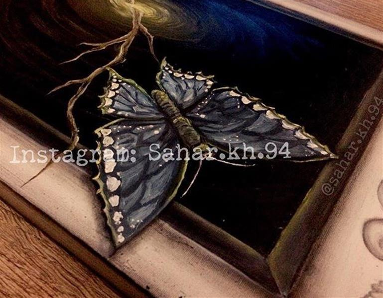 هنر نقاشی و گرافیک نقاشی سه بعدی Sahar khosravi