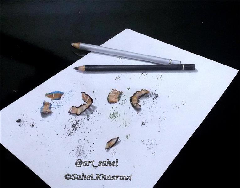 هنر نقاشی و گرافیک نقاشی سه بعدی Art_sahel