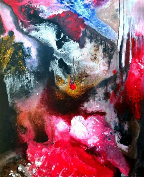 هنر نقاشی و گرافیک نقاشی بیان خویشتن Azadeh mohammadpour