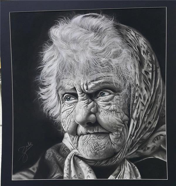 هنر نقاشی و گرافیک نقاشی بیان خویشتن Mahsa zorofchi