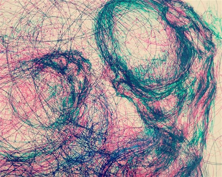 هنر نقاشی و گرافیک نقاشی بیان خویشتن oveis
