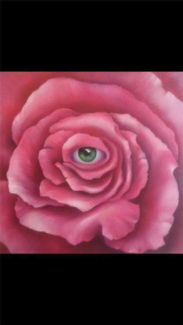 هنر نقاشی و گرافیک نقاشی بیان خویشتن نازنین