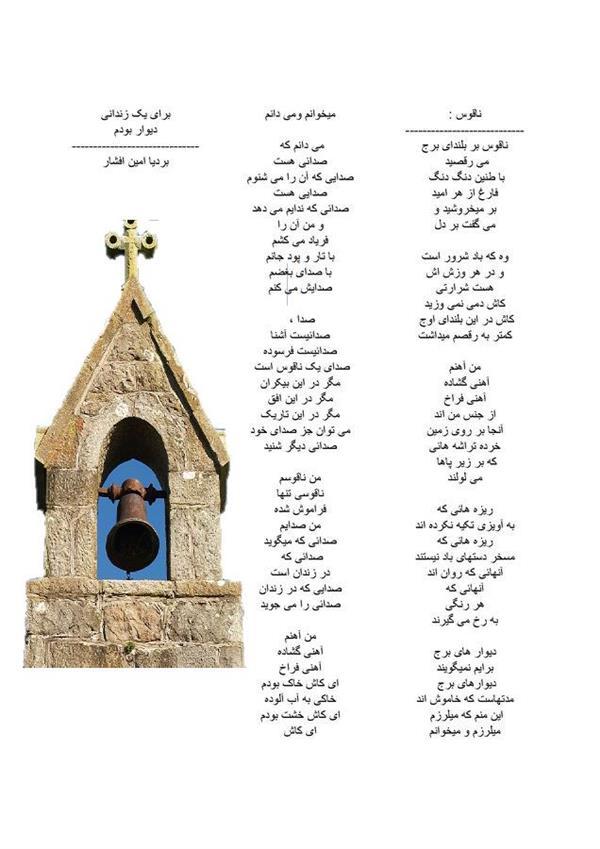 هنر شعر و داستان شعر سکوت بردیا امین افشار