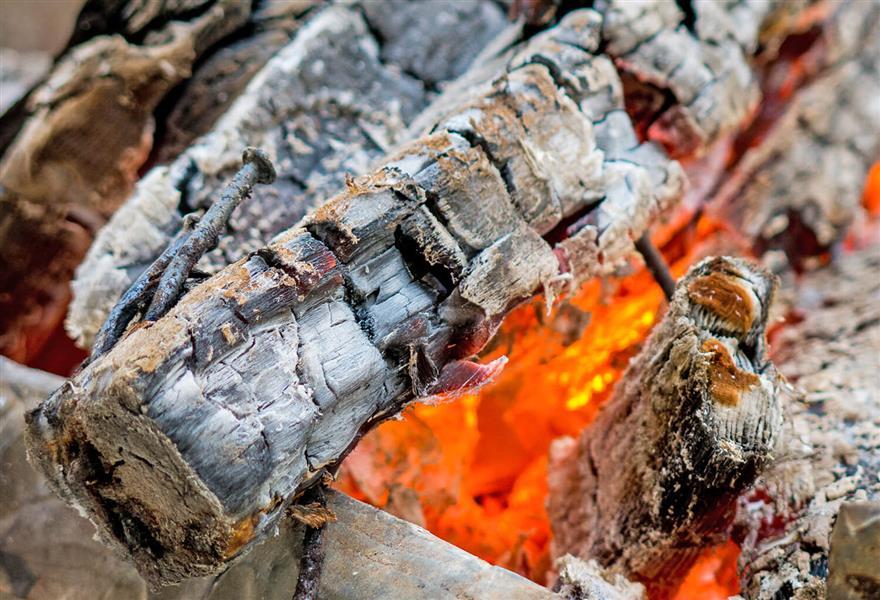 هنر عکاسی دود و آتش M-H-KH آتش زیر خاکستر