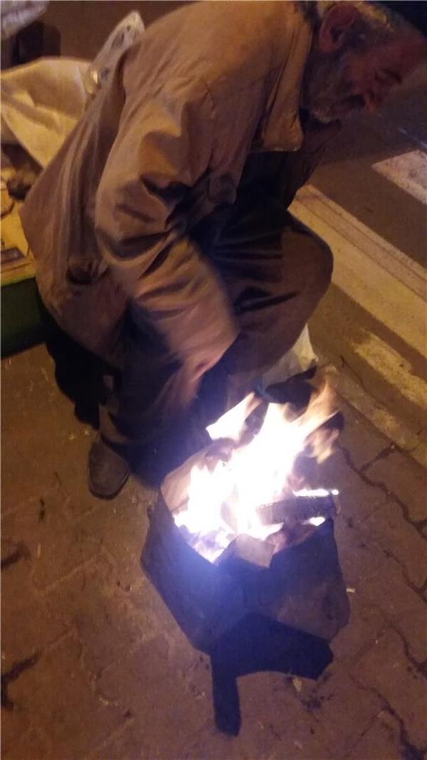 هنر عکاسی دود و آتش kereshme فقر،آتش،درد